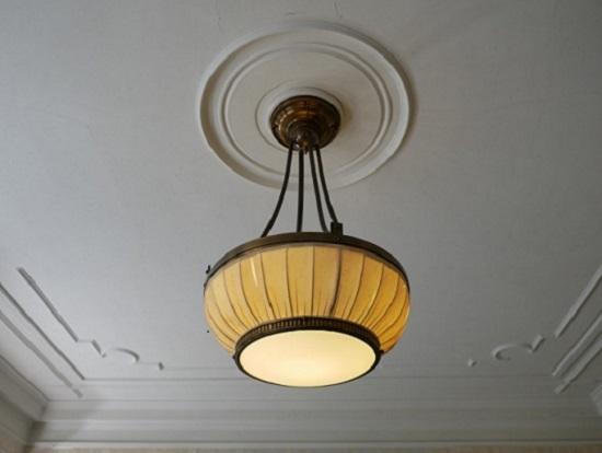旧華頂宮邸ライト2