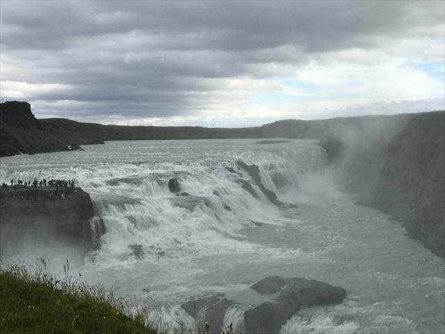 20180805 御神事 アイスランド (グトルフォスの滝)