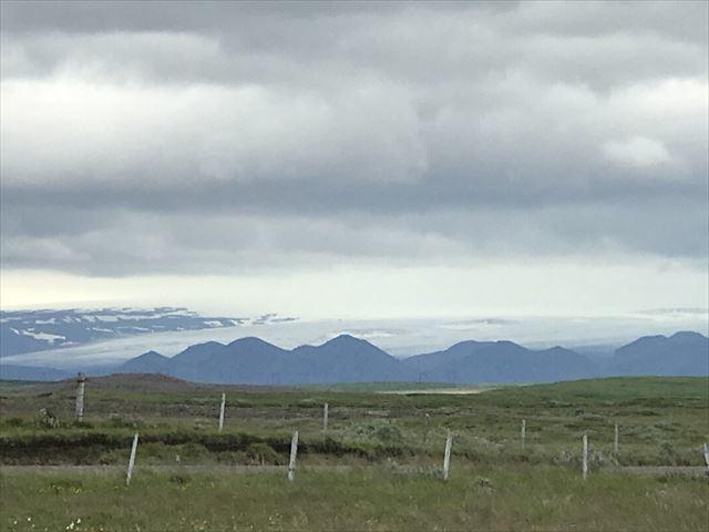 20180805 御神事 アイスランド 遠くの氷河