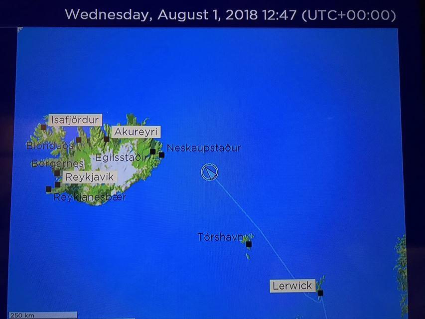 2018 アイスランド御神事 航海中1
