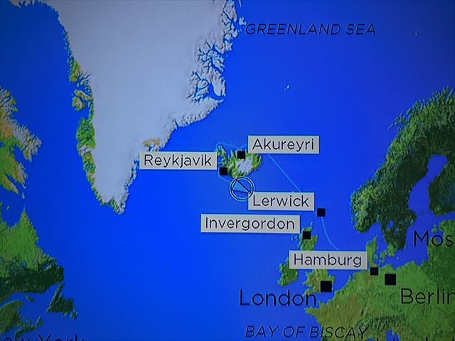 2018年8月6日 アイスランド御神事 航海中2