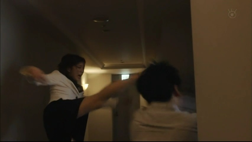 【絶対零度】で【GTO】神崎がカッコ良いアクション演技!第1話5
