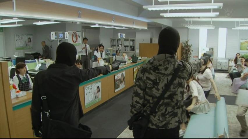 【絶対零度】で【GTO】神崎がカッコ良いアクション演技!第4話2