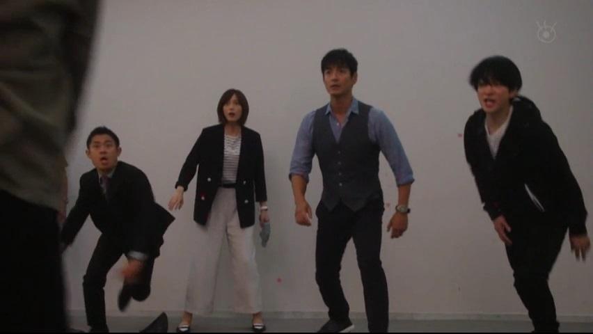 【絶対零度】で【GTO】神崎がカッコ良いアクション演技!第5話8