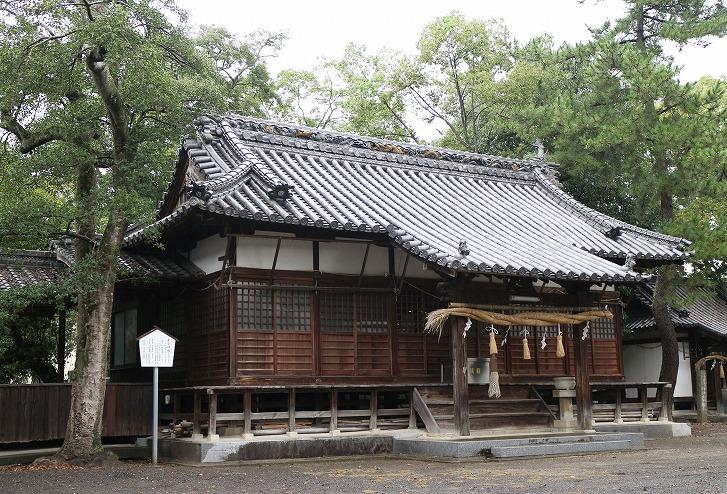 雨の若宮神社 30 9 20