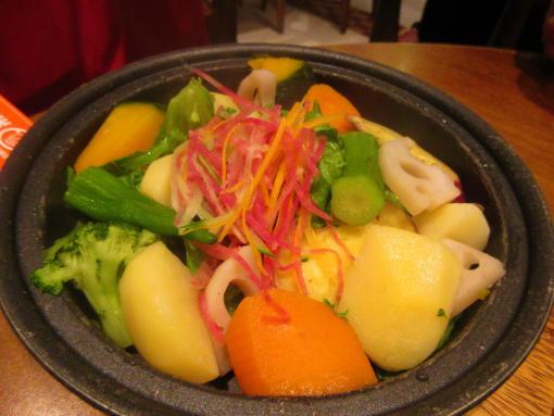 024 蒸し野菜のサラダ(1)