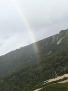 虹のゴール地点