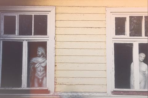 ガラスの向こう側 窓