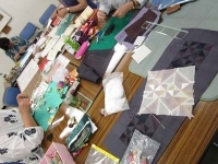 大分市コンパルホール ポジャギ教室