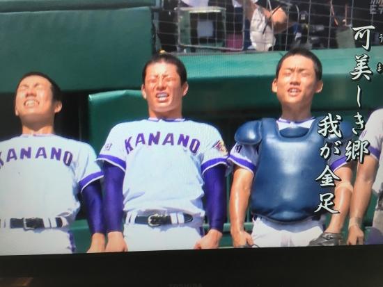 金農ー横浜  甲子園 018