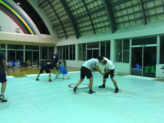 レスリング練習 011