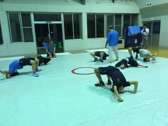 レスリング練習 006