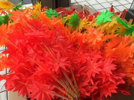 商店街花飾り 005