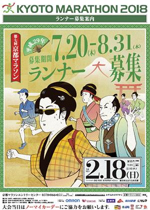 京都マラソンポスター1
