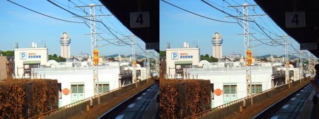 明石駅③(交差法)