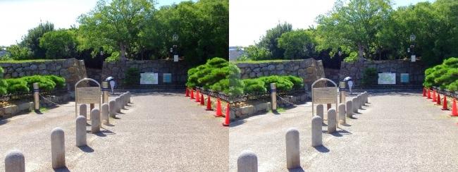明石公園 東入口(平行法)