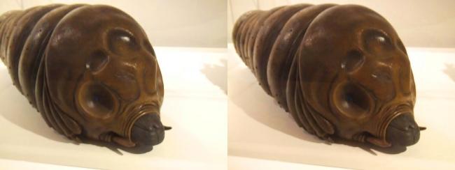 「ゴジラXモスラXメカゴジラ 東京SOS」(2003年)モスラ幼虫(交差法)