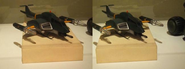 「ゴジラVSモスラ」(1992年)93式メーサー攻撃機(平行法)