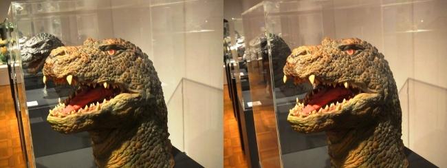 「ゴジラVSキングギドラ」(1991年)ゴジラザウルス 頭部②(交差法)