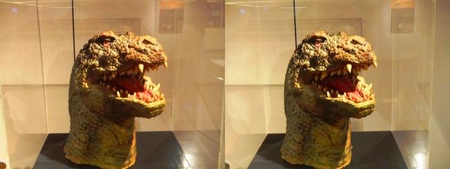 「ゴジラVSキングギドラ」(1991年)ゴジラザウルス 頭部①(平行法)