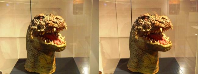 「ゴジラVSキングギドラ」(1991年)ゴジラザウルス 頭部①(交差法)