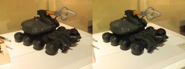 「ゴジラVSビオランテ」(1989年)92式メーサービーム戦車(平行法)