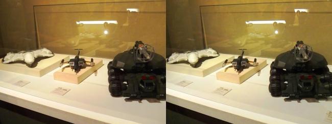 「ゴジラVSビオランテ」(1989年)92式メーサービーム戦車・「ゴジラVSモスラ」(1992年)93式メーサー攻撃機・「ゴジラVSキングギドラ」(1991年)KIDS(平行法)