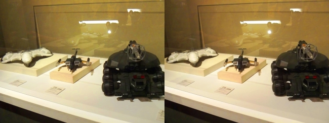 「ゴジラVSビオランテ」(1989年)92式メーサービーム戦車・「ゴジラVSモスラ」(1992年)93式メーサー攻撃機・「ゴジラVSキングギドラ」(1991年)KIDS(交差法)