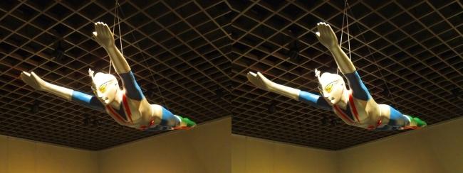 「流星人間ゾーン」(1973年)ゾーンファイター 飛行シーン用(平行法)