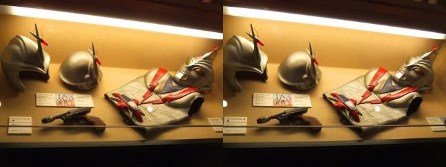 「流星人間ゾーン」(1973年)ゾーンファイター スーツ・ゾーンエンジェル ヘルメット・ゾーンジュニア ヘルメット・ゾーンファイターの銃(平行法)