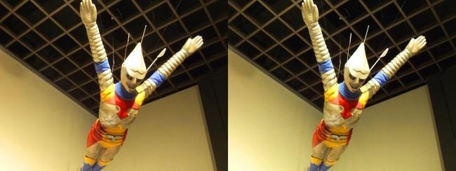 「ゴジラ対メガロ」(1973年)ジェット・ジャガー 飛行シーン用(平行法)