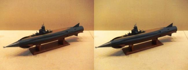 「海底軍艦」(1963年)海底軍艦 轟天号(平行法)