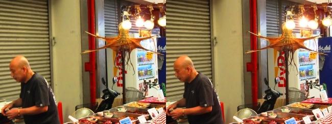魚の棚商店街④(交差法)