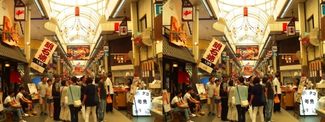魚の棚商店街②(平行法)