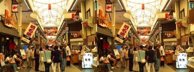 魚の棚商店街②(交差法)