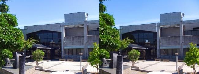 明石市立文化博物館④(交差法)