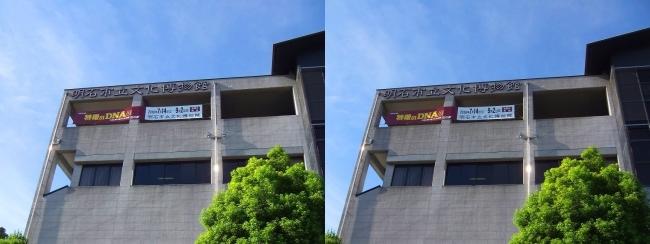 明石市立文化博物館②(交差法)