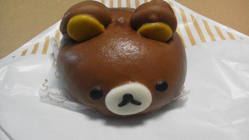 ローソン「リラックまん(チョコレート味)」