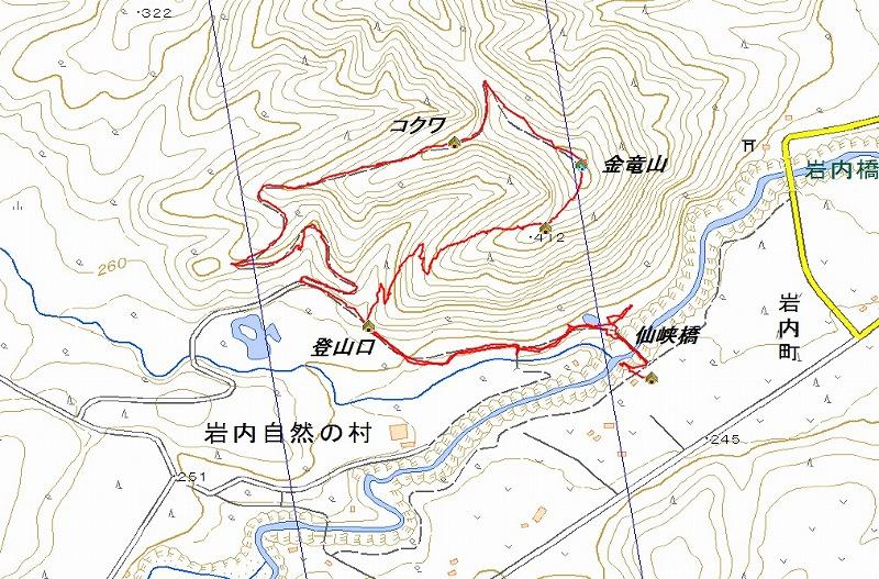 金竜山log
