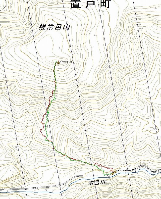 椎常呂山log
