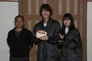 山崎さん誕生日のお祝い2