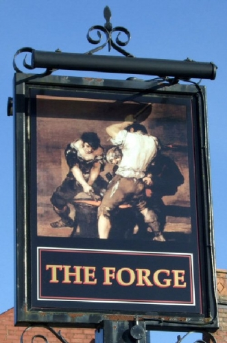 09b 500 sign for the forge