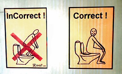 09b 400 how to use toilet