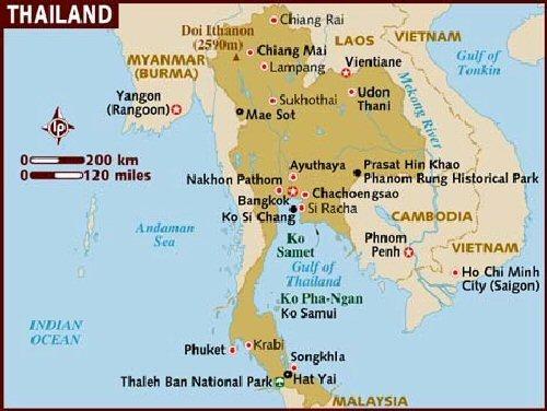 04b 500 Thailand map