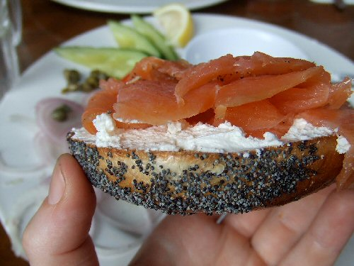 09c 500 Begels with Lox