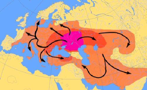 02a 500 印欧語族移動体系