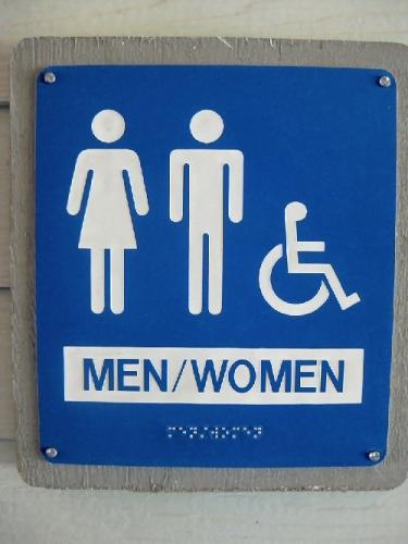10a 500 men women unisex bathroom