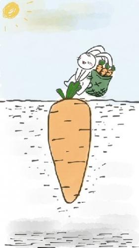 09b 300 rabbit carrot