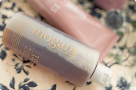 mogans(モーガンズ) ノンシリコン アミノ酸 スキャルプケア シャンプー/コンディショナー (リッチ&ブルーミン)