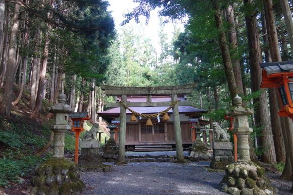 荘川神社(岐阜)10
